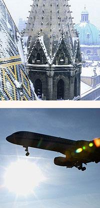 flights to austria