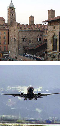 flights to bologna forli