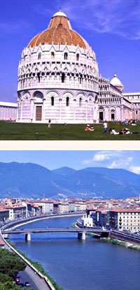 flights to pisa