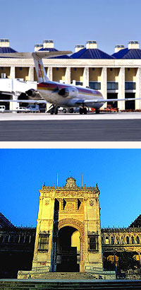 flights to seville