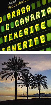 flights to tenerife