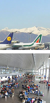 flights to turin